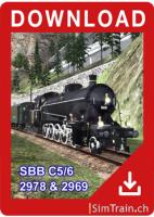 C 5/6 steam locomotive english